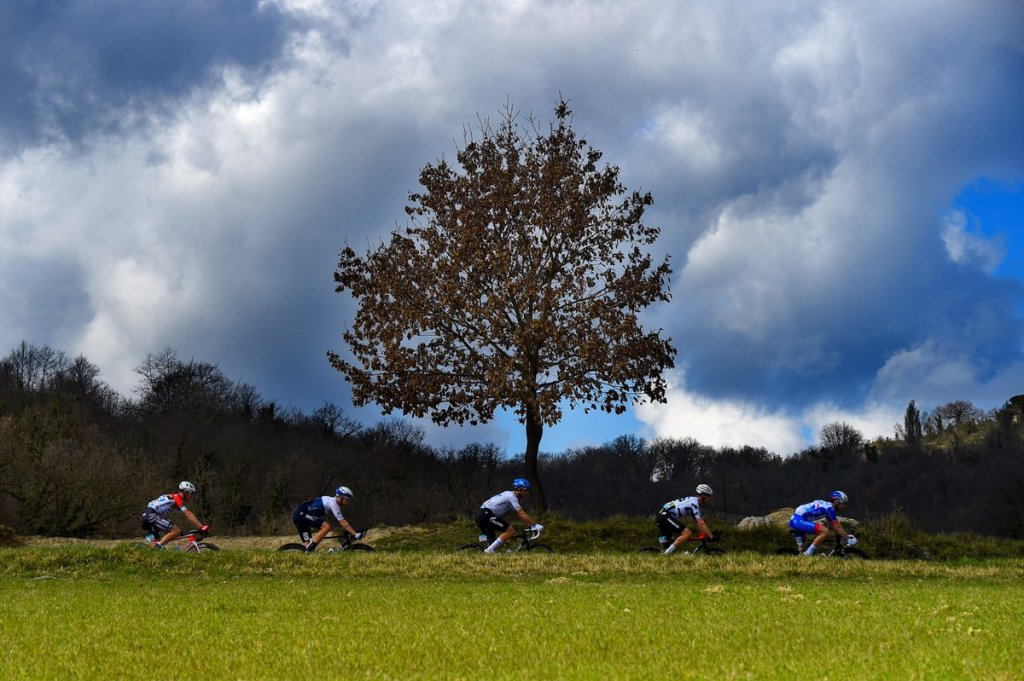 Fasi di corsa della quarta tappa della Tirreno-Adriatico