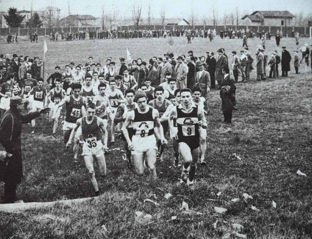 Una delle prime edizioni della competizione dei Cinque Mulini