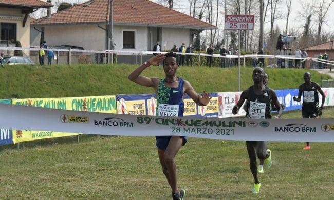 Primo posto per Melak, Cinque Mulini 2021
