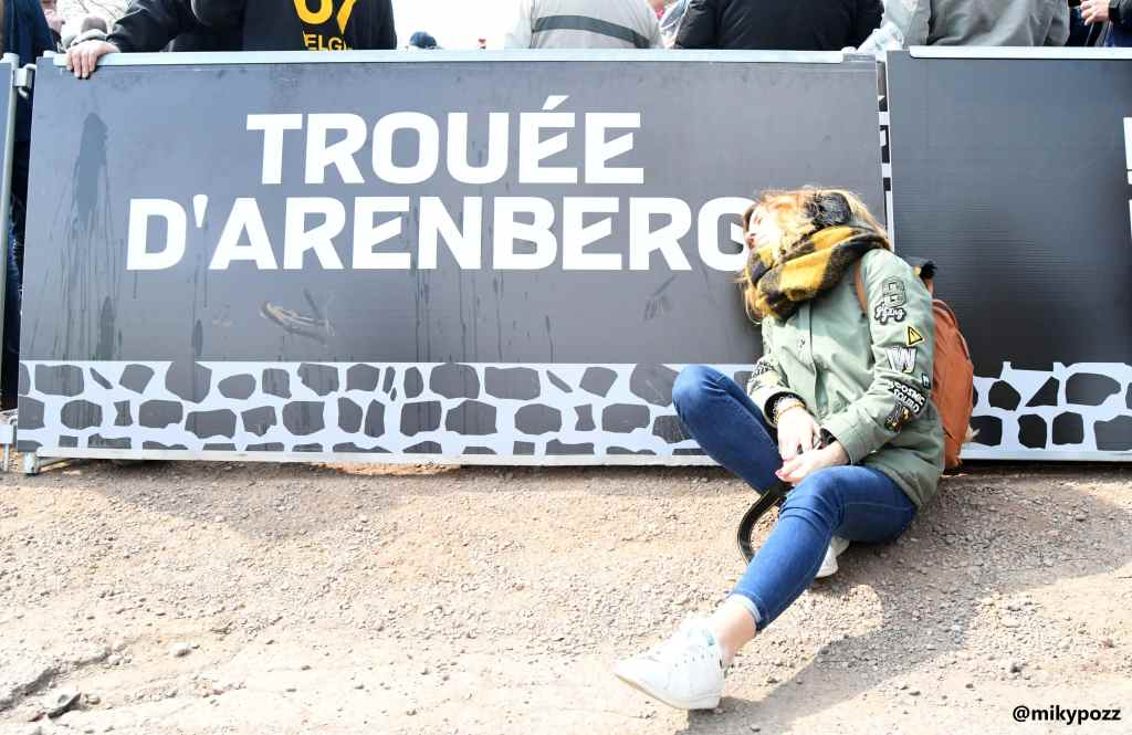 Miriam Terruzzi in Belgio.