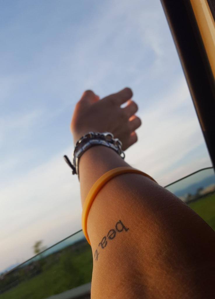 Il tatuaggio di Miriam: beat.