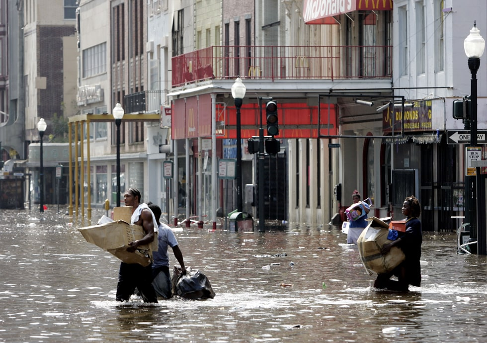 New Orelans - Uragano Katrina - Disastro