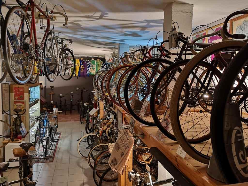 Ciclocollection: l'interno del museo